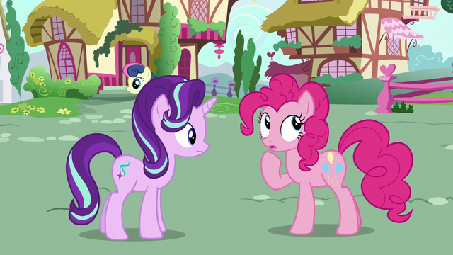 File:Pinkie Changeling doesn't know Starlight's name S6E25.png
