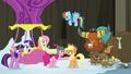 Pinkie plays a yak practical joke on Applejack S7E11.png