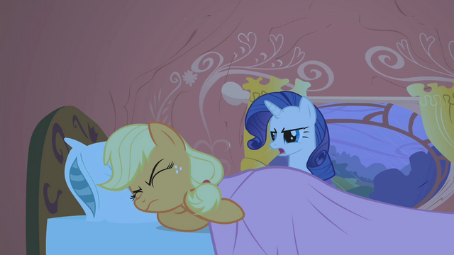 File:Rarity mad at sleeping Applejack S1E8.png