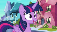 Twilight Sparkle happy to see Cadance S6E16