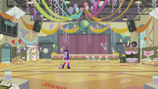 File:Twilight and Spike enter the gym EG.png