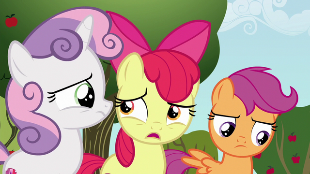 """File:Apple Bloom """"can a griffon even get a cutie mark?"""" S6E19.png"""