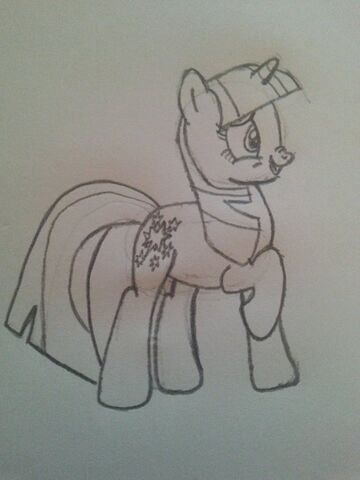 File:FANMADE Twilight Sparkle Hand drawn.jpg