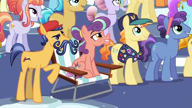 """File:Mustache Crystal Pony """"No Crystalling, huh?"""" S6E2.png"""