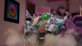 Mountain of stuff falls on top of Pinkie (version 2) EGM1.png