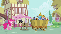 Pinkie Pie Looking At Crankys Stuff S02E18