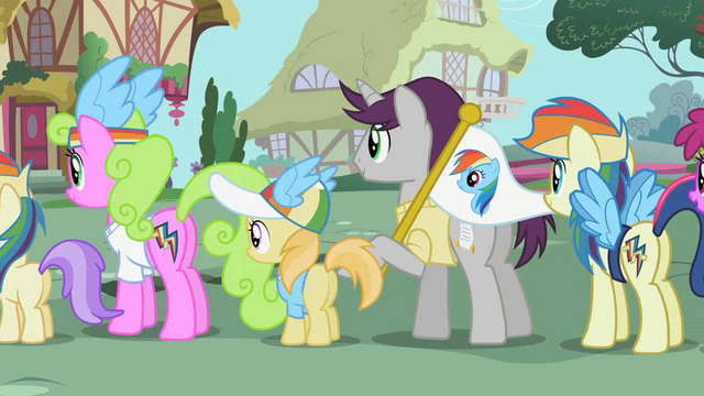 File:Ponies waiting for an autograph S02E08.png