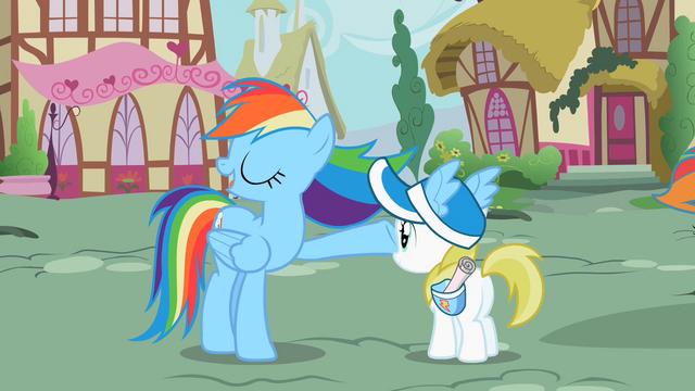 File:Rainbow Dash waving mane S2E8.png