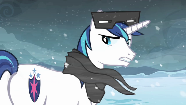 File:Shining Armor 'We think it's a unicorn king' S3E1.png