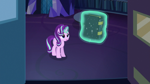 File:Starlight levitating a spell book off the shelf S6E21.png