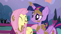 "Fluttershy ""thanks for helping me"" S5E3"