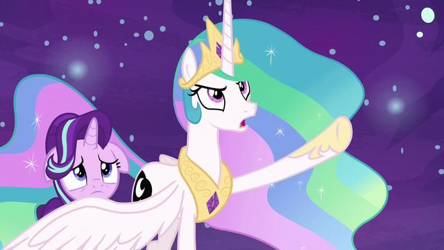 """File:Princess Celestia """"I'll never turn into you!"""" S7E10.png"""