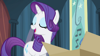 "Rarity ""and here it is!"" S4E19"
