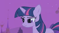 Twilight because someone woke it S1E6