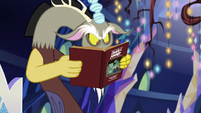 Discord looks at the manual again S6E17