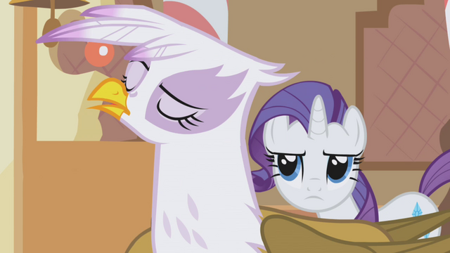 File:Rarity annoyed by Gilda's pushiness S1E05.png