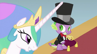 Spike with wedding rings S2E26