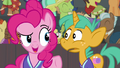 Pinkie Pie teasing Snails S6E18.png