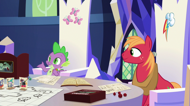 File:Spike asks for Discord's character class S6E17.png
