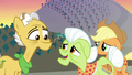 Granny welcomes Grand Pear back to Ponyville S7E13.png