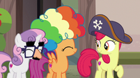 Sweetie Belle and Scootaloo agree to be sensitive S7E8