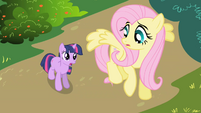 Twilight meets Fluttershy first time S1E1