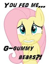 """FANMADE Fluttershy """"You fed me"""""""
