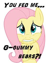 "File:FANMADE Fluttershy ""You fed me"".jpg"