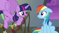 "Twilight ""think of the Wonderbolts like us"" S6E7"