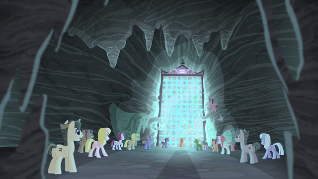 File:Village ponies watch the glass crack S5E2.png