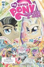 Comic issue 46 sub cover