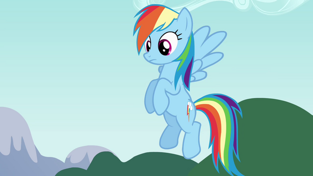 File:Rainbow Dash listening to Pinkie S4E12.png