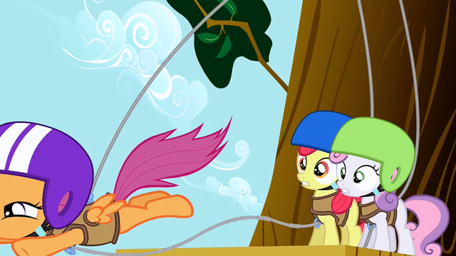 File:Scootaloo Jumps S1E23.png