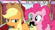 Pinkie Pie moustache S3E09