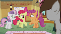 "Apple Bloom ""what do you say"" S5E18"