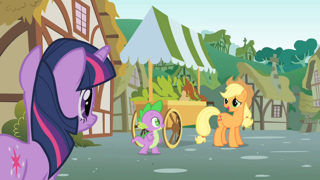 File:Applejack talks to Twilight about Pinkie's sense S1E15.png