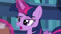 """Twilight Sparkle skeptical """"I'm sure"""" S6E21"""