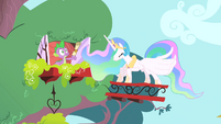 Celestia crashing down S1E15