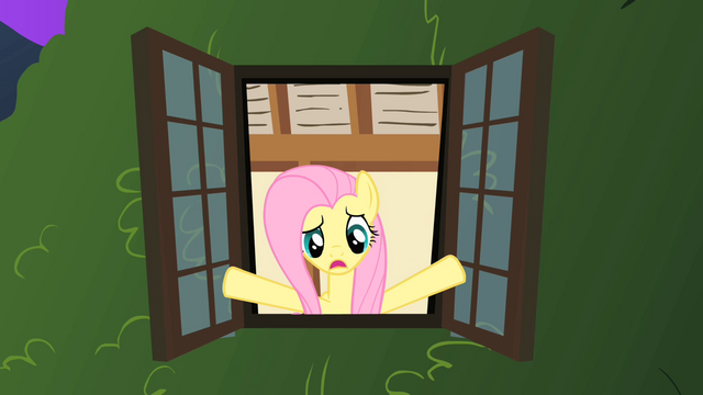 File:Fluttershy looks out her window S1E17.png