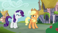 "Applejack ""if she knew how hard we worked"" S7E9"