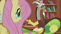 "Fluttershy and Discord ""are you eating paper?"" S03E10"