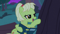Granny Smith reading bedtime story to her trees S7E13