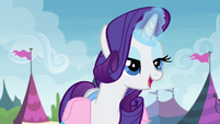 "Rarity ""so glad you showed that to me"" S4E22"
