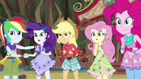Equestria Girls listen to Gloriosa Daisy sing EG4