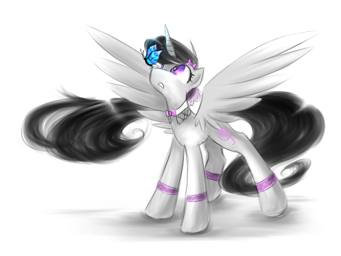 File:FANMADE Alicorn Octavia.png