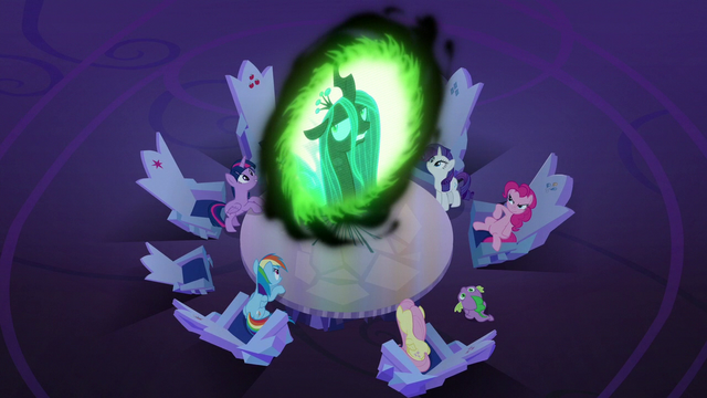 File:Queen Chrysalis rolling her eyes S6E25.png