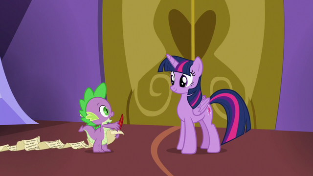"""File:Spike """"if we want to be at the hospital by lunch"""" S7E3.png"""