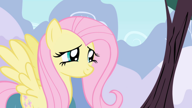 File:Fluttershy looking cute S1E1.png