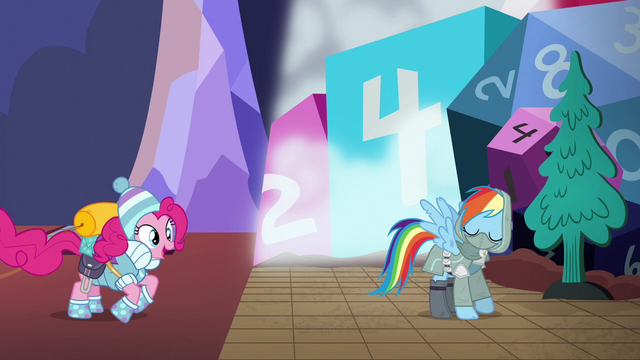 File:Pinkie Pie jumps into the game world S6E17.png