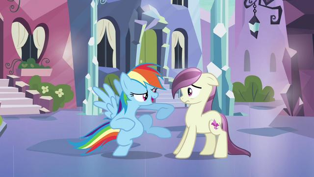 File:Rainbow Dash 'Gotta know something' S3E1.png